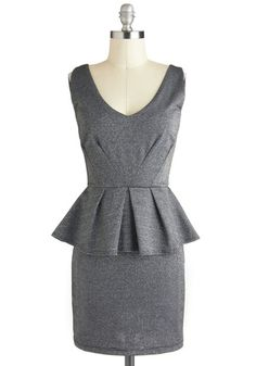 Starlit Evening Dress from ModCloth. Mob Dresses, Dresses For Sale, Cute Dresses, Fashion Dresses, Grey Dresses, Vestidos Vintage Retro, Retro Vintage Dresses, Dress Me Up, New Dress