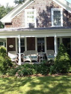 Cape cod porch