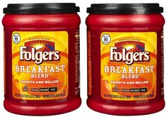Folgers Breakfast Blend Ground Coffee -- Read more  at the image link.