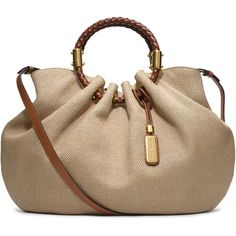 Michael Kors Skorpios Canvas Ring Tote..Do I need this, ah Yes.