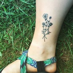 Image result for floral leg tattoo