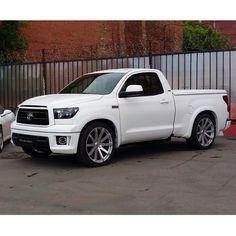 #Toyota #Tundra #ToyotaTundra #TRD #lowered #slammed #PLS #ProLineSport #power #trucks #тюнинг ...