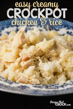 3-4 boneless, skinless chicken breasts, cubed if desired 10¾ oz can cream of chicken soup 14 oz can chicken broth ½ c onion, chopped 3 c long grain rice, uncooked 3 c water salt and pepper to taste