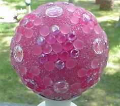 DIY Decorative Garden Ball Tutorial