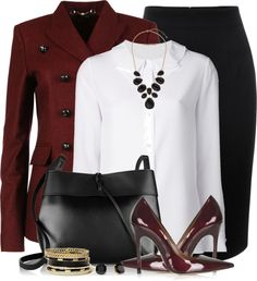 23 Outfits To Style With Saint Laurent Layered Collar Blouse