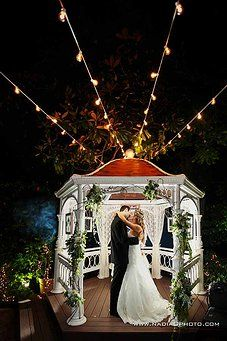Dont Like The Lighting But Love Gazebos Wedding Venue In Atlanta GA