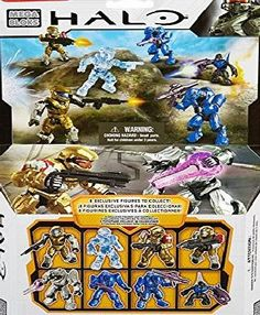 Halo Action Figures, The Covenant, Video Game, December, Army, Silver, Gi Joe, Military, Video Games