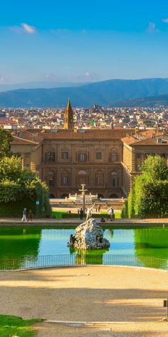 Boboli Gardens in Florence - Tuscany, Italy Florence Tuscany, Tuscany Italy, Italy Italy, Italy Vacation, Italy Travel, Italy Trip, Lake Como Italy Hotels, Cool Places To Visit, Places To Go