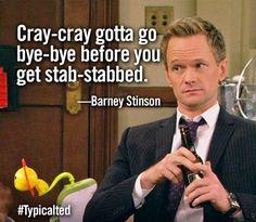 Bahahahahaha so cray cray