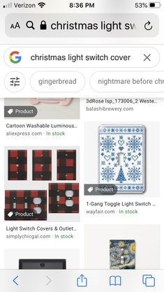 73 Christmas Light Switch Covers Ideas In 2021 Light Switch Covers Light Switch Switch Covers