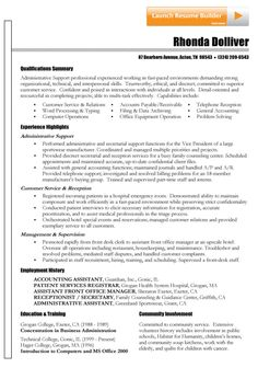 266 best resume examples images on pinterest best resume examples