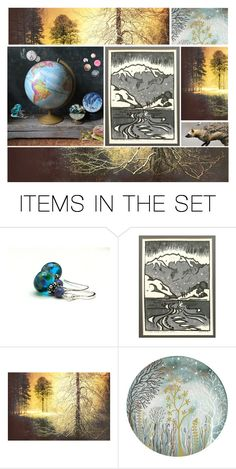 """T I L T"" by westernartglass ❤ liked on Polyvore featuring art"