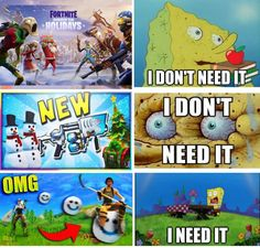 Me and Fortnite right now