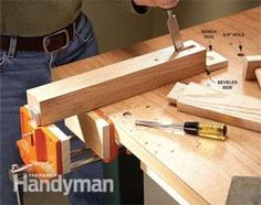 Woodworking For Beginners Most versatile hold-down system - We looked at all of our clever DIY workbench upgrades and narrowed it down to these 10 winners. Each one helps you get the most from your hard-working workbench. Woodworking Power Tools, Woodworking For Kids, Woodworking Furniture, Woodworking Bench, Woodworking Shop, Woodworking Projects, Woodworking Machinery, Youtube Woodworking, Woodworking Equipment