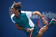 Roger Federer, at the 2015 US Open #Federer #RogerFederer #2015USOpen #tennis