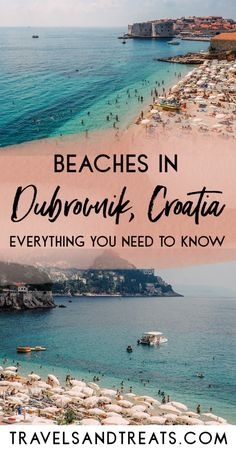 A Guide to Beaches in Dubrovnik, Croatia. Find great things to do in Dubrovnik with this guide featuring Dubrovnik beach hotels, beach map, and more!