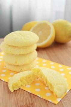Lemon cookies!
