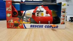 Dickie Rescue Helicopter Police Light & Sounds new boxed #Dickies