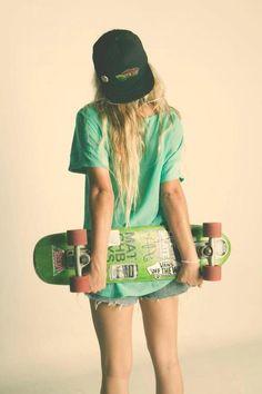Born to skateboarding