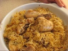 How To Make Chicken Pulao recipe -Pakistani Food Recipes ethnic-food-recipes-to-make-when-i-need-a-little-s (easy food recipes indian) Healthy Rice Recipes, Diet Recipes, Chicken Recipes, Cooking Recipes, Budget Cooking, Chicken Meals, Cooking Time, Indian Food Recipes, Asian Recipes