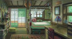 Studio Ghibli Art, Studio Ghibli Movies, When Marnie Was There, Casa Anime, Anime Places, Howls Moving Castle, Hayao Miyazaki, Anime Scenery, Totoro