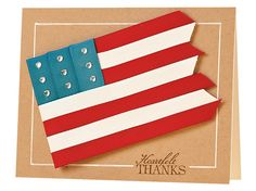 Heartfelt Thanks Card by Belinda Chang Langner Military Cards, Paper Crafts Magazine, Creating Keepsakes, Thanks Card, Scrapbook Cards, Scrapbooking Ideas, Card Tags, Deck Of Cards, Creative Crafts