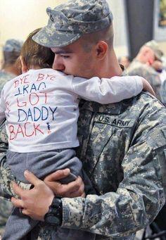 bye bye iraq. got daddy back. melt.my.heat.