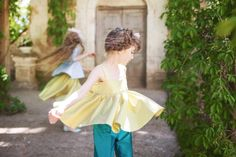 Silks in marshmallow and jewel colours for Aristocrat Kids spring 2016 girls fashion