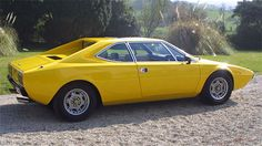 Dino 308 GT4.  The thematic similarity to the X1/9 and Stratos is especially evident from this angle.