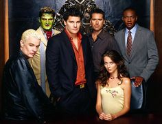 the men of Angel are a bonus to watching the show