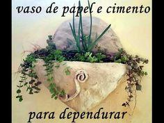 FOLHAS DE CIMENTO E PAPEL, OU ISOPOR, OU PAPEL E ISOPOR, TODAS AS 3 MASSAS FUNCIONAM, ECONOMICO - YouTube