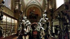 Cavalcata di armature del museo Stibbert. Secoli XV-XVI.