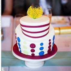 Bright Cakes- Quirky Button Details