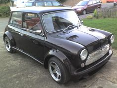 Austin Mini 1000 first car i brought for Jill as a gift and her first car
