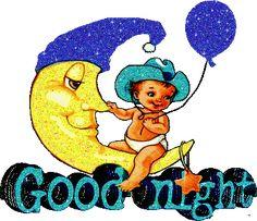 Een goede nacht en welterusten, krabbels en animaties 2 van tekstplaatjes.US