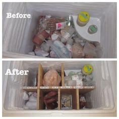 60 best organize freezer images freezer storage organizers deep rh pinterest com