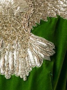 ALEXANDER MCQUEEN декорированное вечернее платье