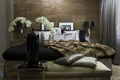 Metropolitan luxury bedroom - Eric Kuster