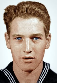 Paul Newman during World War II