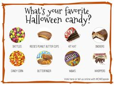 Before you do the Monster Mash we wanna know… What's the best Halloween candy of all time? Tell us below, or tweet us your vote using #CMCspook For Halloween costumes, tricks and treats check out our Fall Harvest board on Pinterest. MelanieMore Posts - Website Follow Me: