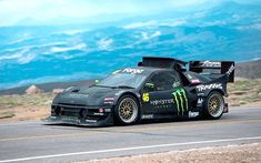 Pat Doran, driving a Ford places in with a time of More than 140 competitors participated. Monster Energy, Weird Cars, Cool Cars, Sport Cars, Race Cars, Hill Climb Racing, Turbo Car, Chevy S10, Sand Rail