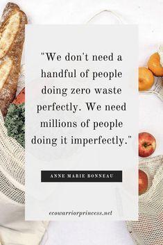 25 Brilliant Quotes About Plastic Free & Zero Waste Living