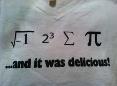 "omg. if i ever did ""matheletes""..... never. hahaha but this would be the shirt of choice. so clever!"