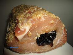 Schab ze śliwką | Bajkorada - przepisy dla całej rodziny Pork, Meat, Kale Stir Fry, Pork Chops