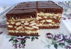 Hungarian Desserts, Hungarian Recipes, Sweet Cookies, Cake Cookies, Cake Bars, Homemade Cakes, Winter Food, Creative Food, Sweet Recipes