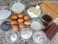 Prajitura cu mac Ingrediente Tosca Biscuit, Food And Drink, Cooking Recipes, Cheese, Breakfast, Recipes, Room, Morning Coffee, Chef Recipes