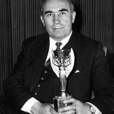 Long time ago when we were fab! Sir Alf Ramsey with World Cup 1966