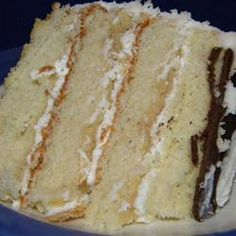 Heavenly White Cake..Will try for My Birthday..