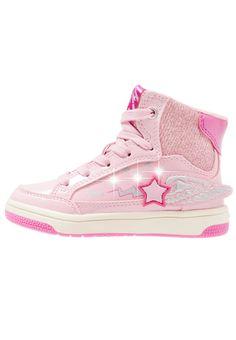 Geox CREAMY - Korkeavartiset tennarit - pink/fuchsia - Zalando.fi Converse Chuck Taylor High, Converse High, High Top Sneakers, Crocs, Timberland, Prada, Chuck Taylors High Top, Nike, High Tops
