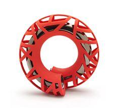 LOUSJE SKALA-AU, 'Link' bracelet / 3D printed nylon, paint, ...